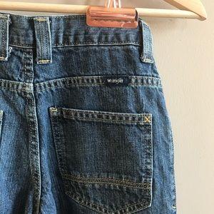 Wrangler blue vintage straight jeans